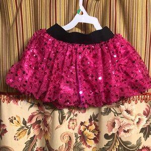 Balera Pink Sequin Dance Skirt